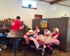 adults and children fellowship for vacation bible school