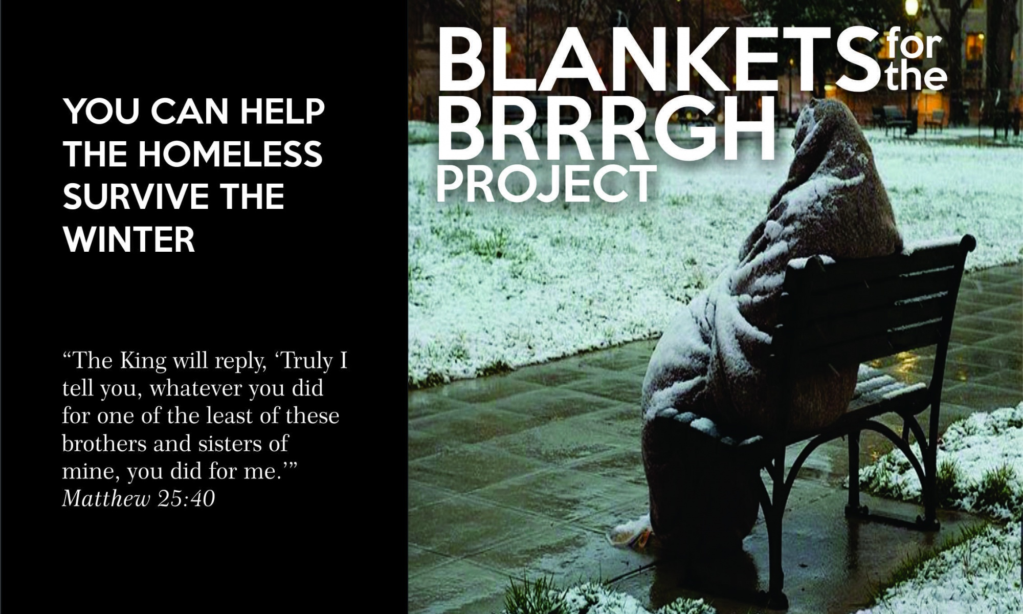blanket project poster
